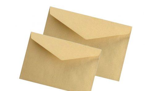 Buste gialle per corrispondenza blasetti Rosati Carta