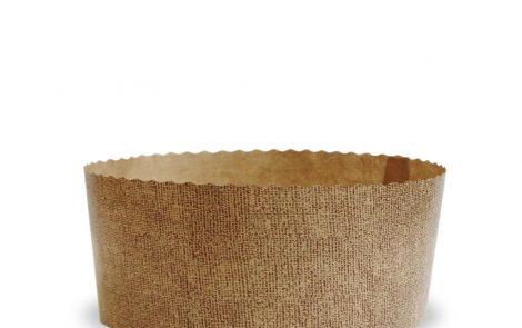 Forma cottura panettone bassa 1 kg Rosati Carta