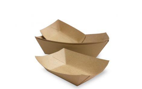Vassoi rettangolari cartoncino antigrasso Rosati Carta