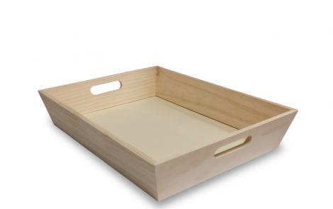 Vassoio legno balsa Rosati Carta