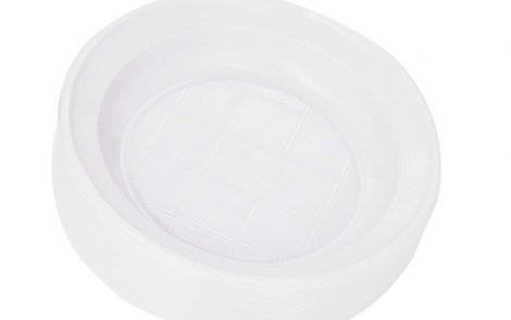 piatti fondi classici plastica bianca Presto Rosati Carta