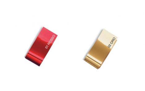 Colori rosso oro nastro in rotolo 19 mm Reflex Rosati Carta