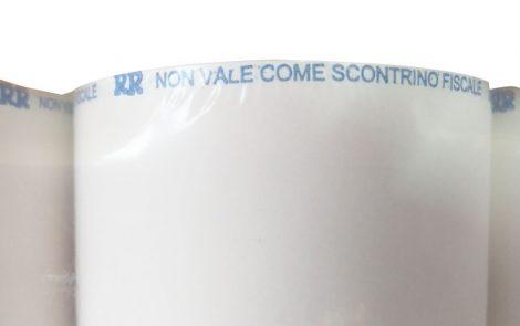 Rotolini termici per bilancia con stampa NVCSF Rosati Carta