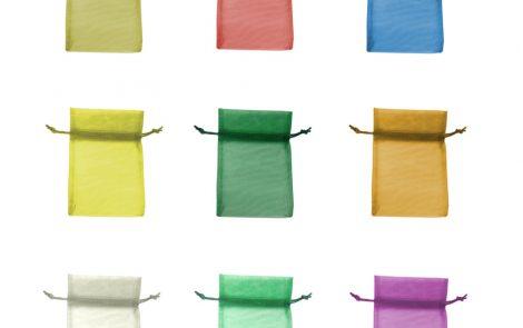 Sacchetti organza per decorazioni tutti i colori Rosati Carta