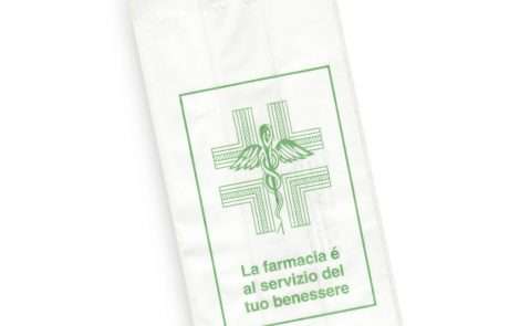 Sacchetti kraft stampa farmacia generica Rosati Carta