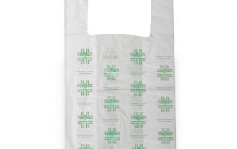 Shoppers biocompostabili farmacia Rosati Carta