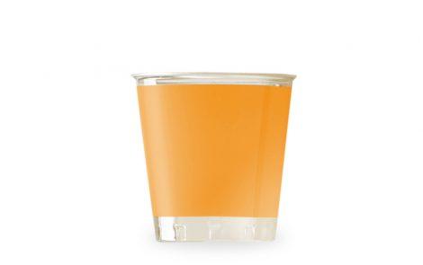 Bicchiere kristal arancio coordinati extra Rosati Carta