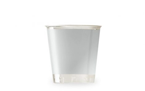 Bicchiere kristal argento coordinati extra Rosati Carta