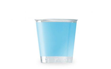 Bicchiere kristal celeste coordinati extra Rosati Carta