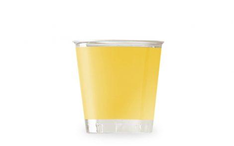 Bicchiere kristal giallo coordinati extra Rosati Carta