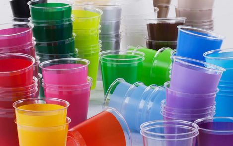 Bicchieri kristal colori coordinati extra Rosati Carta