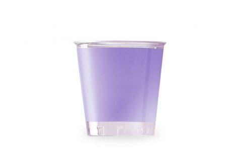 Bicchiere kristal lilla coordinati extra Rosati Carta