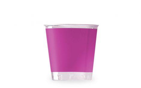 Bicchiere kristal magenta coordinati extra Rosati Carta