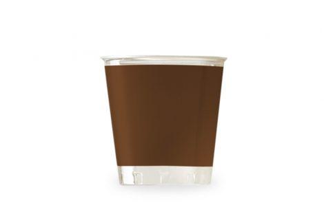 Bicchiere kristal marrone coordinati extra Rosati Carta