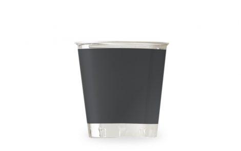 Bicchiere kristal nero coordinati extra Rosati Carta