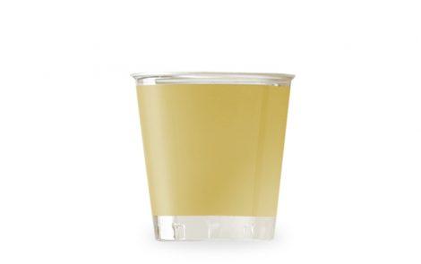 Bicchiere kristal oro coordinati extra Rosati Carta