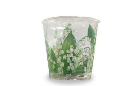 Bicchiere kristal mughetti coordinati extra Rosati Carta