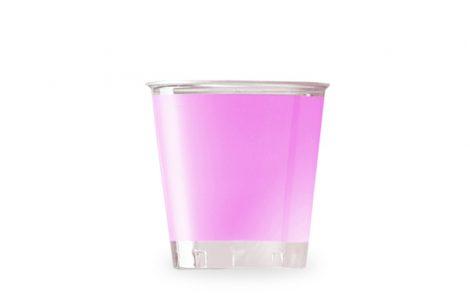 Bicchiere kristal rosa coordinati extra Rosati Carta
