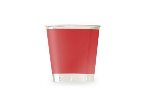 Bicchiere kristal rosso coordinati extra Rosati Carta