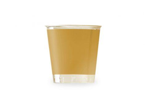 Bicchiere kristal taupe coordinati extra Rosati Carta