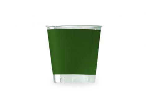 Bicchiere kristal verde coordinati extra Rosati Carta