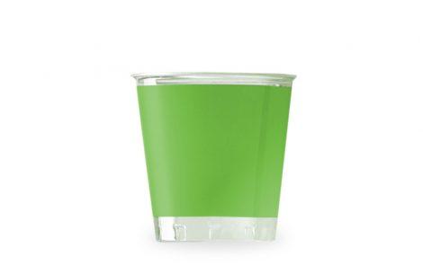 Bicchiere kristal verde prato coordinati extra Rosati Carta