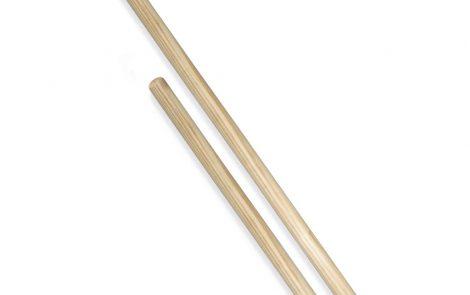 Manico per scopa in legno grezzo Rosati Carta