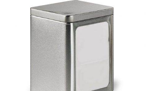 Porta tovaglioli da bar silver acciaio Rosati Carta