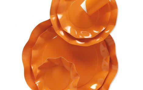 Set coordinati Petalo arancio extra Rosati Carta