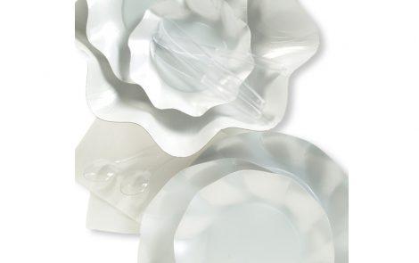 Set coordinati Petalo bianco perlato extra Rosati Carta