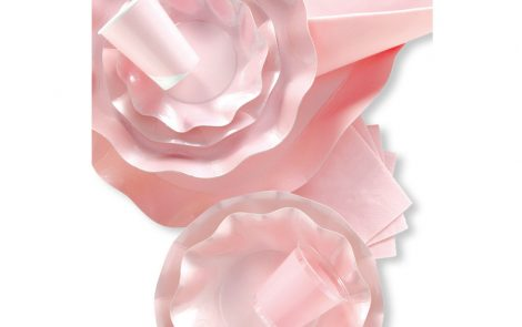 Set coordinati Petalo rosa perlato extra Rosati Carta