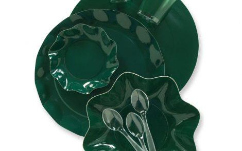 Set coordinati Petalo verde extra Rosati Carta
