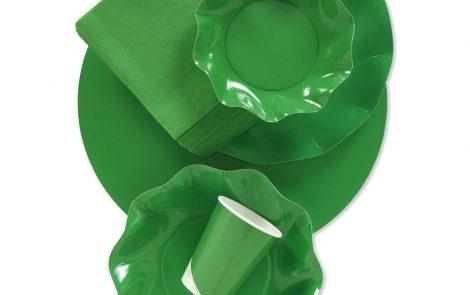 Set coordinati Petalo verde prato extra Rosati Carta