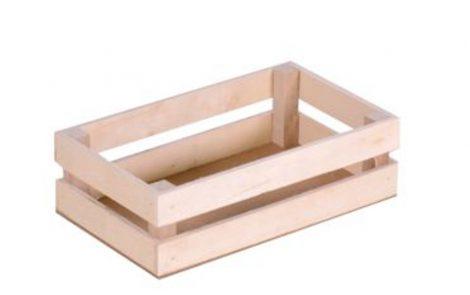 Cassetta legno bassa Rosati Carta