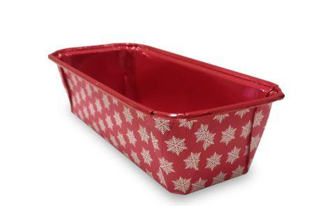 Forma per plumcake Xmass Natale Rosso Rosati Carta