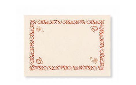 Tovagliette rustico Rosati Carta