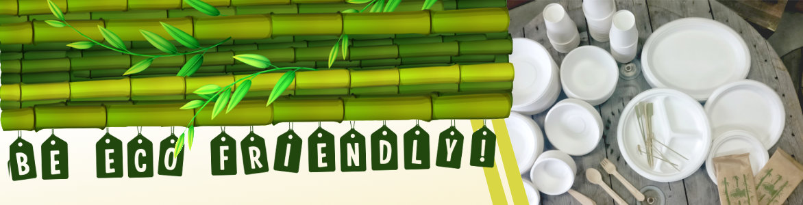 Be Eco Friendly Banner