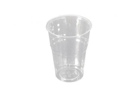 Bicchieri biodegradabili PLA trasparente 250 cc Rosati Carta