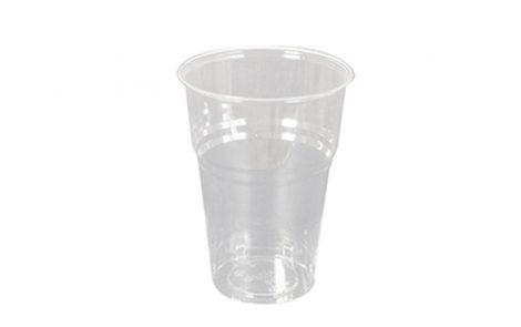 Bicchieri biodegradabili PLA trasparente 400 cc Rosati Carta