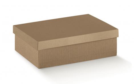 scatole onda avana con coperchio